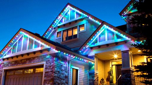 Calgary Christmas Light Installation