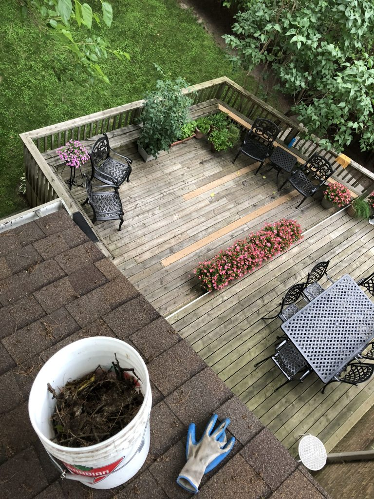 Eavestrough Cleaning Services in Toronto